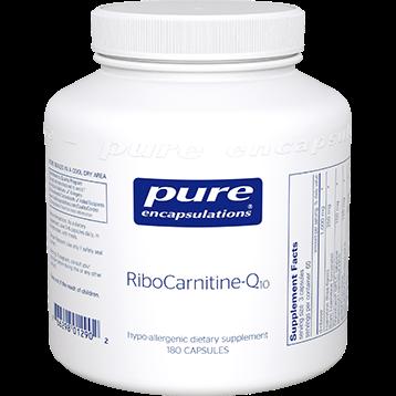 Pure Encapsulations RiboCarnitine Q10 180 vcaps RCQ1
