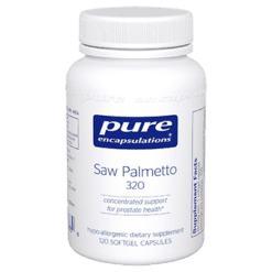 Pure Encapsulations Saw Palmetto 320 120 gels SAW42