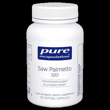 Pure Encapsulations Saw Palmetto 320 120 gels SAW42