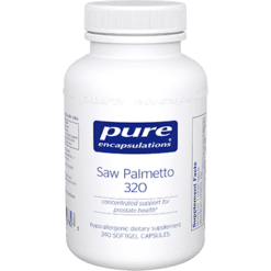 Pure Encapsulations Saw Palmetto 320 240 gels SAW43