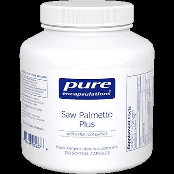 Pure Encapsulations Saw Palmetto Plus 250 gels SAW29