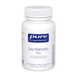 Pure Encapsulations Saw Palmetto Plus 60 gels SAW31