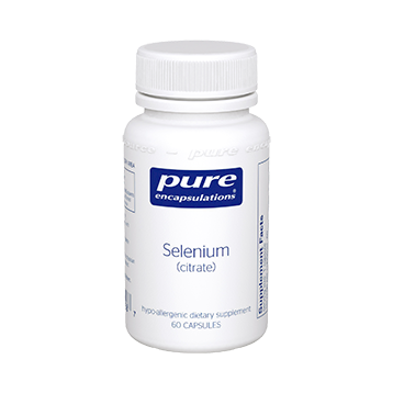 Pure Encapsulations Selenium citrate 200 mcg 60 vcaps SEL18