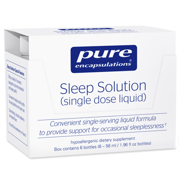 Pure Encapsulations Sleep Solution Box 6 bottles P1681