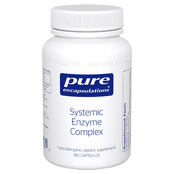 Pure Encapsulations Systemic Enzyme Complex 180 vcaps SYST5