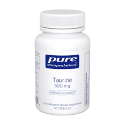 Pure Encapsulations Taurine 500 mg. 60 vcaps TAU10