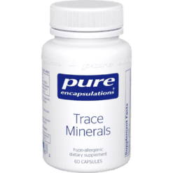 Pure Encapsulations Trace Minerals 60 caps P16283