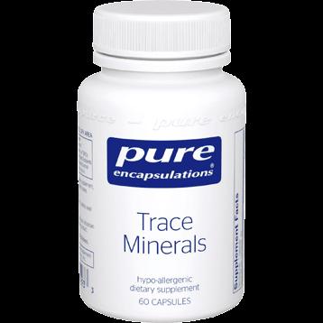 Pure Encapsulations Trace Minerals 60 caps P16283