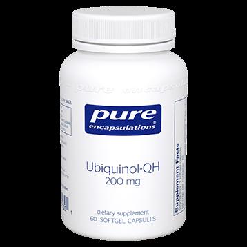Pure Encapsulations Ubiquinol QH 200 mg 60 gels UQ26