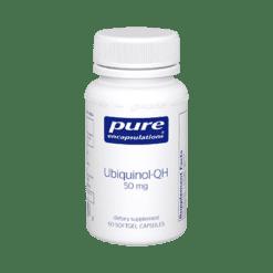 Pure Encapsulations Ubiquinol QH 50 mg 60 gels UQ56