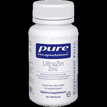 Pure Encapsulations UltraZin Zinc 90 caps P18706