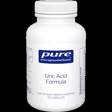 Pure Encapsulations Uric Acid Formula 120 vcaps UAF1