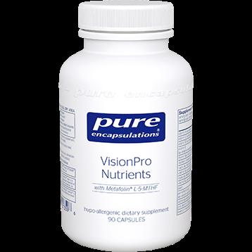 Pure Encapsulations Vision Pro Nutrients 90 caps P13596