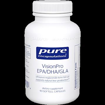 Pure Encapsulations VisionPro EPA DHA GLA 90 caps P13626