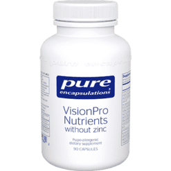 Pure Encapsulations VisonPro Nutrients w o zinc 90 caps P15842