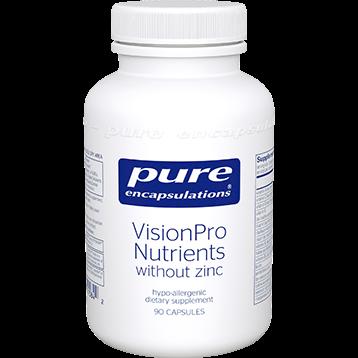 Pure Encapsulations VisonPro Nutrients w o zinc 90 caps P15842