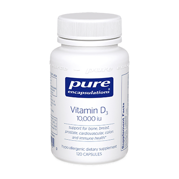 Pure Encapsulations Vitamin D3 10000 IU 120 vcaps VD101