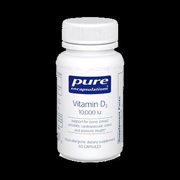 Pure Encapsulations Vitamin D3 10000 IU 60 vcaps VD106