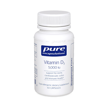 Pure Encapsulations Vitamin D3 5000 IU 60 vcaps VD56