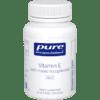 Pure Encapsulations Vitamin E Natural 400 IU 90 gels ECA18