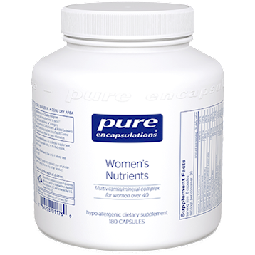 Pure Encapsulations Womens Nutrients 180 vcaps WN1