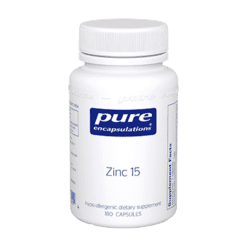Pure Encapsulations Zinc 15 180 vcaps ZIN38