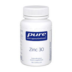 Pure Encapsulations Zinc 30 180 vcaps ZIN36