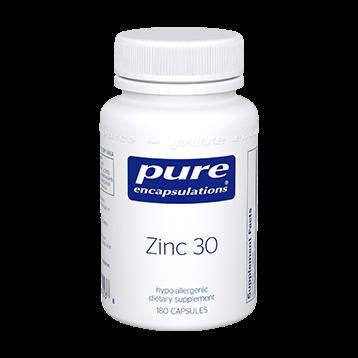 Pure Encapsulations Zinc 30 180 vcaps ZIN36