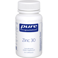 Pure Encapsulations Zinc 30 60 vcaps ZIN37