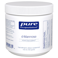 Pure Encapsulations d Mannose Powder 100 gms MANN1