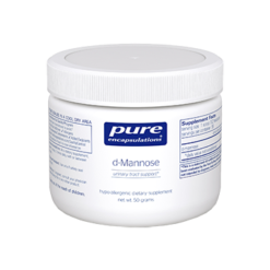 Pure Encapsulations d Mannose Powder 50 gms MANN3