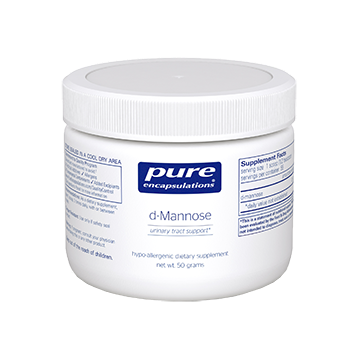 Pure Encapsulations d Mannose Powder 50 gms MANN3