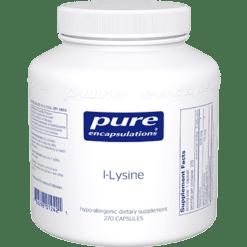 Pure Encapsulations l Lysine 270 vcaps LL2