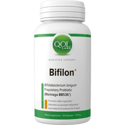 Quality of Life Labs Bifilon 125 mg 60 vegetarian capsules Q379