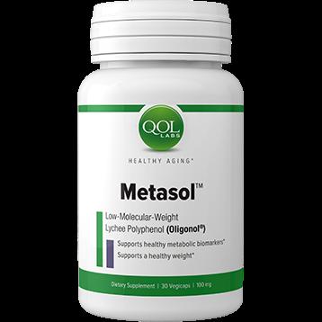 Quality of Life Labs Metasol 100 mg 60 vegetarian capsules Q348