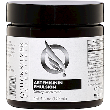 Quicksilver Scientific Artemisinin Emulsion 4 oz QSART01