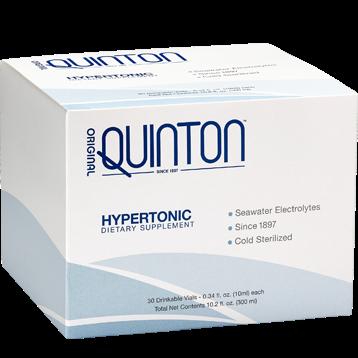 Quicksilver Scientific Original Quinton Hypertonic 30 Amps QS1018