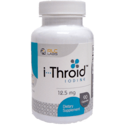 RLC Labs i Throid™ 12.5mg 90 vegetarian capsules RL5578