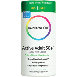 Rainbow Light Nutrition Active Adult 50 Multivitamin 90 tablets R10992