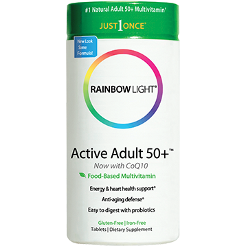 Rainbow Light Nutrition Active Adult 50 Multivitamin 90 tablets R10992