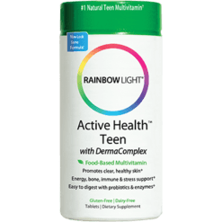 Rainbow Light Nutrition Active Health Teen Multivitamin 90 tablets R11202