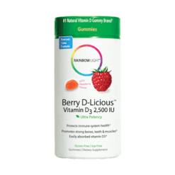 Rainbow Light Nutrition Berry D Licious™ Vit D3 50 Gummies R12141