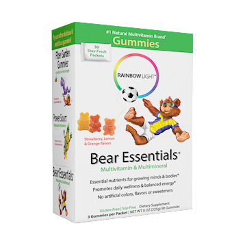 Rainbow Light Nutrition Gummy Bear Essential Multivitamin 30 packets R12002