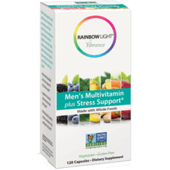 Rainbow Light Nutrition Men039s Multi Stress Support 120 vegcaps R80617