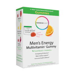 Rainbow Light Nutrition Mens Energy Multivitamin Gummy 30 packets R21618