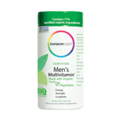 Rainbow Light Nutrition Mens Multivitamin 120 vegetarian capsules R80011