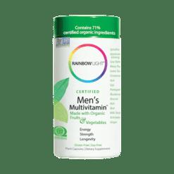 Rainbow Light Nutrition Mens Multivitamin 120 vegetarian capsules R80011