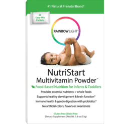Rainbow Light Nutrition NutriStart Multivitamin Powder 1.9 oz R13118