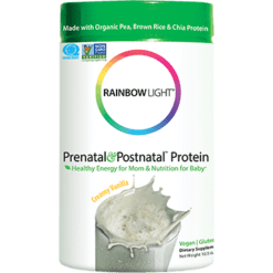 Rainbow Light Nutrition Prenatal Postnatal Protein Vanilla 10.5 oz R10811