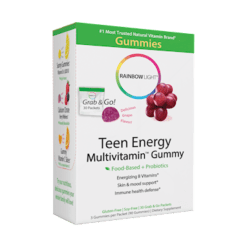 Rainbow Light Nutrition Teen Enrgy Multivitamin Gummy 30 packs R21816